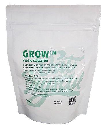 Fertilizante Fat Crystal Grow 200g Vega Booster
