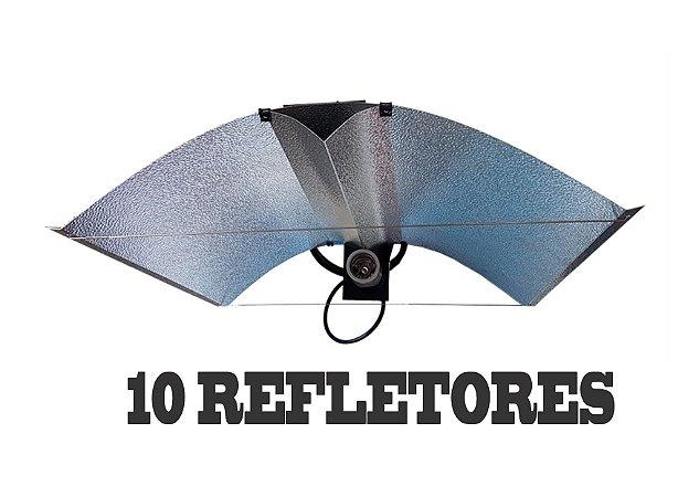 10 Refletores Aberto ADVANCED 65x50cm + FRETE GRÁTIS