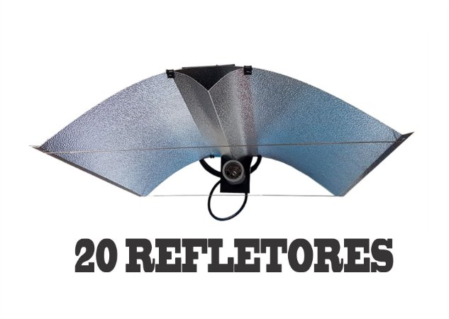 20 Refletores Aberto ADVANCED 65x50cm + FRETE GRÁTIS