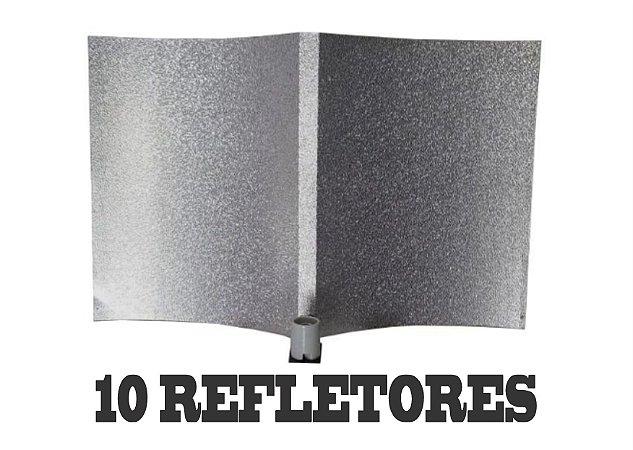 10 Refletores Light Wing 100x63 + FRETE GRÁTIS