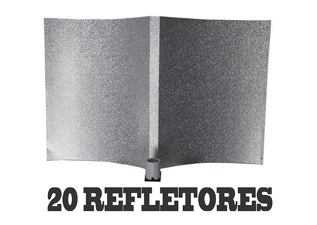 20 Refletores Light Wing 100x63 + FRETE GRÁTIS