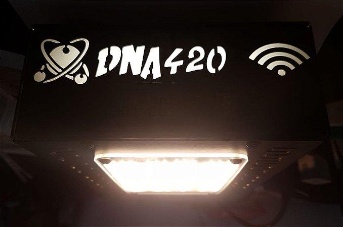 Painel Led DNA420 Quantum Board 130w Termohigrometro e WIFI, UV + IR