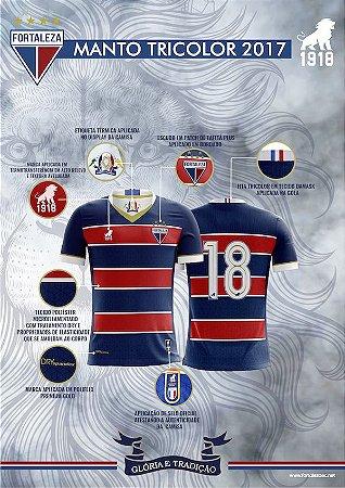 Camisa Feminina Tradição Tricolor - SÓCIO