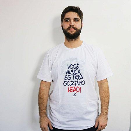 T-SHIRT VOCÊ NUNCA ESTARÁ SOZINHO