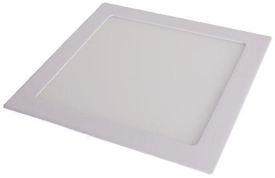 Luminária de Embutir LED Slim Quadrada 24W - 3000K (Amarela)