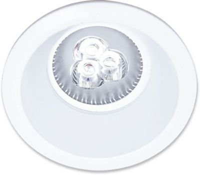 Spot Tech LED Vulc Redondo - 3000K (Luz Amarela)