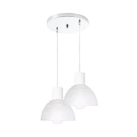 Pendente Track ED 2 lâmpadas - Startec