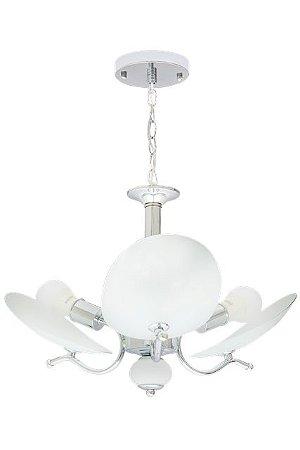Lustre Ricko 3 lâmpadas