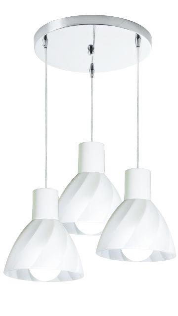 Pendente Anello SH 3 lâmpadas - Startec