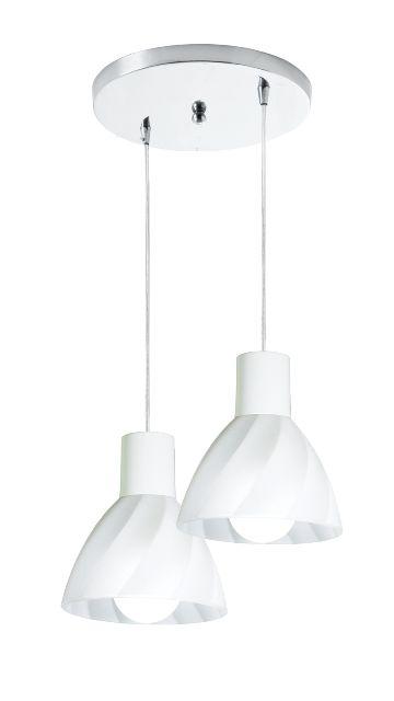 Pendente Anello SH - 2 lâmpadas - Startec