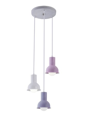 PENDENTE COLLECTION TRIO COLORS M1  (RS/LL/BCO)