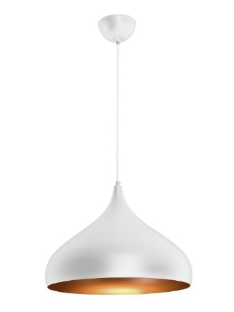 Pendente RPX Gota 40cm Branco