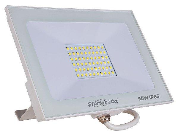REFLETOR LED 50W BRANCO 6500K