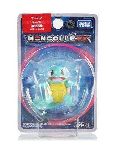 Squirtle Figure colecionável Pokémon Moncolle-ex - Original Takara Tomy