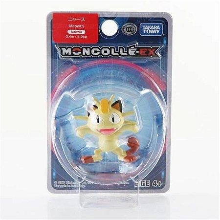 Meowth Figure colecionável Pokémon Moncolle-ex - Original Takara Tomy