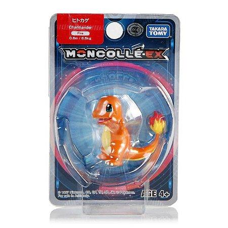 Charmander Figure colecionável Pokémon Moncolle-ex - Original Takara Tomy