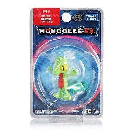 Treecko Figure colecionável Pokémon Moncolle-ex - Original Takara Tomy