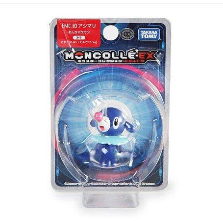 Popplio Figure colecionável Pokémon Moncolle-ex - Original Takara Tomy