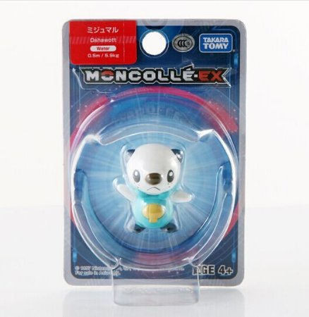 Oshawott Figure colecionável Pokémon Moncolle-ex - Original Takara Tomy