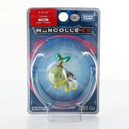 Turtwig Figure colecionável Pokémon Moncolle-ex - Original Takara Tomy