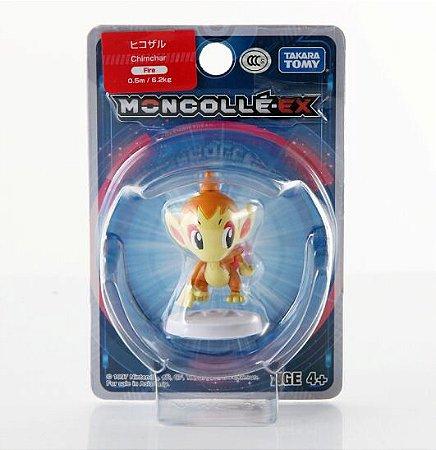 Chimchar Figure colecionável Pokémon Moncolle-ex - Original Takara Tomy