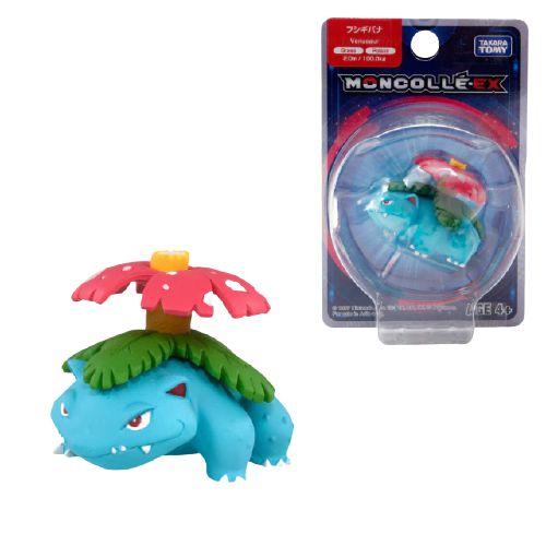 Venusaur Figure colecionável Pokémon Moncolle-ex - Original Takara Tomy