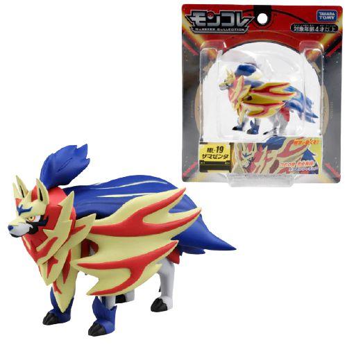 Zamazenta Figure colecionável Pokémon Monster Collection Moncolle-ex - Original Takara Tomy