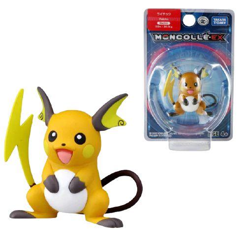 Raichu Figure colecionável Pokémon Moncolle-ex - Original Takara Tomy