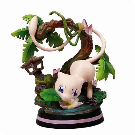Diorama Mew Versão de Batalha Alta qualidade - Pokémon