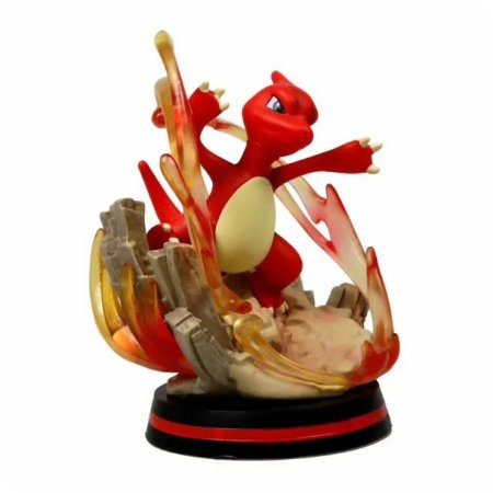 Diorama Charmeleon Versão de Batalha Alta qualidade - Pokémon