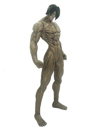 Estátua Gigante Eren Yeager Titã de Ataque Attack On Titan 45 Cm - Shingeki No Kyojin