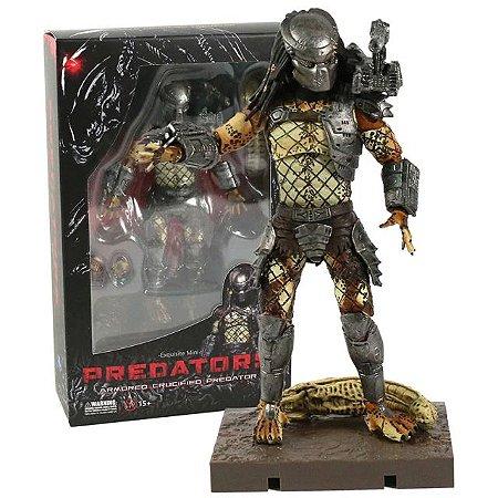 Predador Armored Crucified Action Figure 13 Cm - Original Hiya