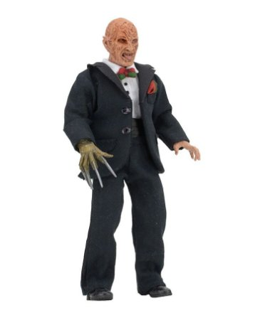 Freddy Krueger Figure A Nightmare On Elm Street 3  Dream Warriors Retrô Clothed - Neca