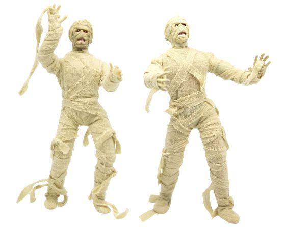 Mego Action Figure Múmia Egípcia Oficial Series Horror Retrô - Mego Corporation