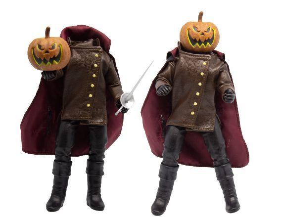 Mego Action Figure Cavaleiro sem Cabeça Oficial Series Horror Retrô - Mego Corporation