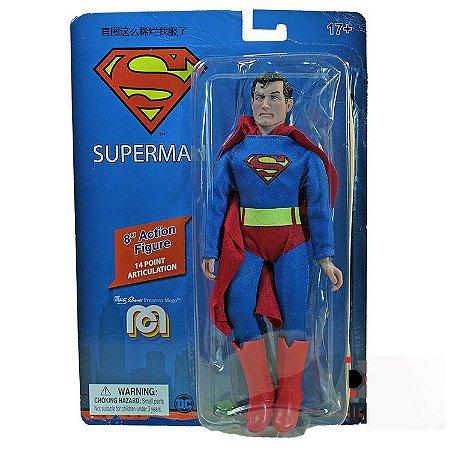 Mego Action Figure Superman Oficial Series Heroes Retrô - Mego Corporation