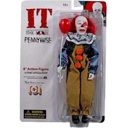 Mego Action Figure Pennywise Oficial Series Horror Retrô - Mego Corporation