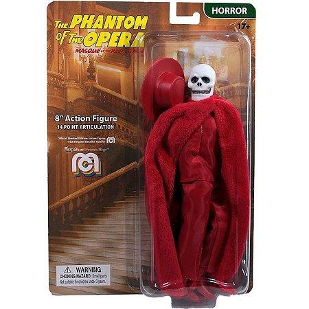 Mego Action Figure O Fantasma da Opera Oficial Series Horror Retrô - Mego Corporation
