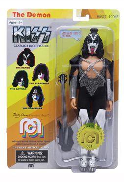 Mego The Demon Kiss Oficial Series Ícones da Música Retrô - Mego Corporation
