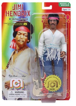 Mego Jimi Hendrix Oficial Series Music And Movies Retrô - Mego Corporation
