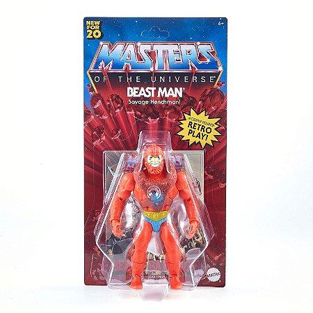 Homem Fera Masters Of The Universe Origins Retrô - Mattel