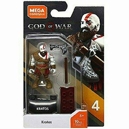 Kratos God Of War PS4 - Mega Construx