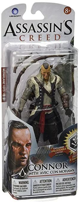 Action Figure Connor with Mohawk Assassin's Creed - Games Geek