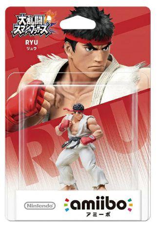 Amiibo Ryu Street Fighter Nintendo WiiU Switch - Games Geek