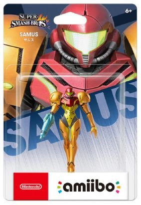 Amiibo Samus Metroid Nintendo WiiU Switch - Games Geek