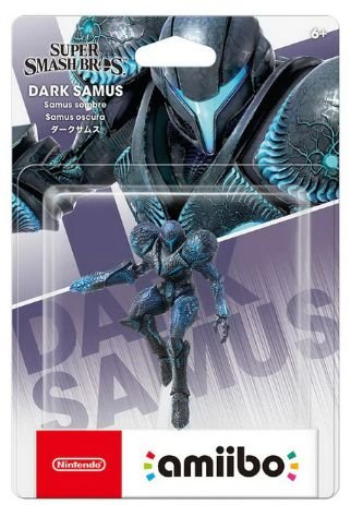 Amiibo Dark Samus Metroid Nintendo WiiU Switch - Games Geek