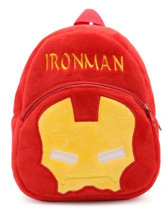 Mochila Infantil Plush Homem de Ferro - Escolar