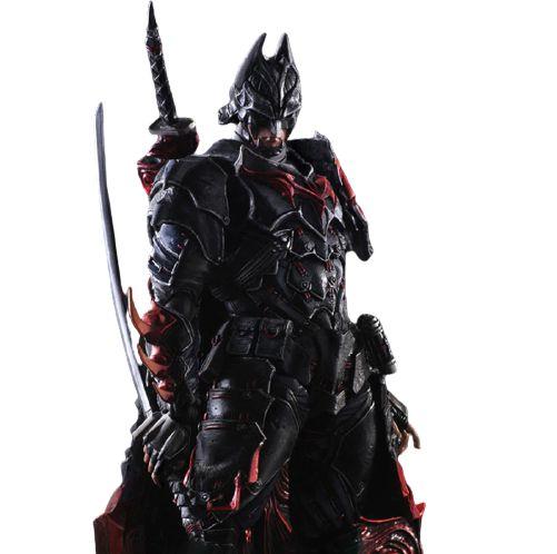 Action Figure Batman 25 Cm Articulado Arts Kai Variant Versão Bushido - Dc Comics