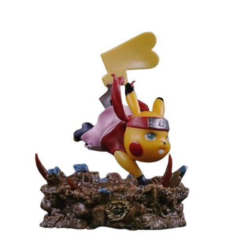 Diorama Pikachu Versão Battle Sakura - Pokémon