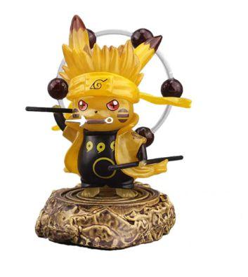 Diorama Pikachu Versão Naruto Kurama - Pokémon